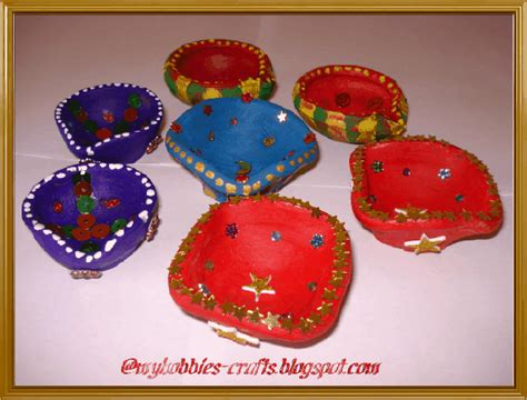 Handmade Diya Decoration - my hobbies and crafts 10 01 2010 11 01 2010