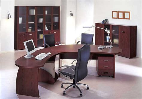 Modern Desk Sets Choosing Most Appropriate Executive Office Furniture Collections