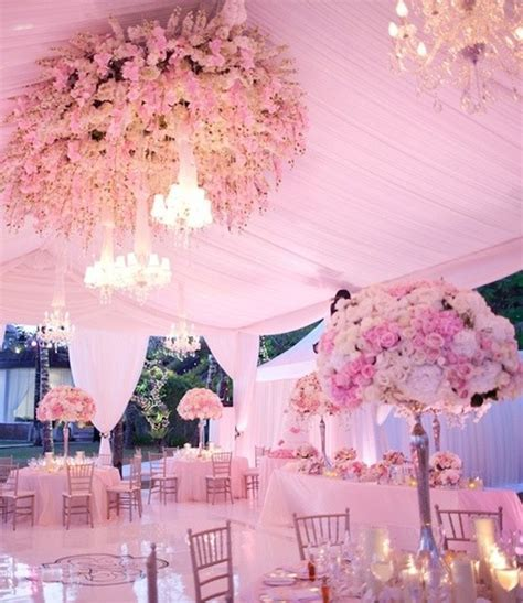 Pink Wedding   Pale Pink Wedding Tables #798642   Weddbook