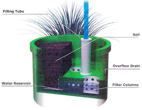 self watering planter self watering pot self watering planter conical self watering planter occ outdoors