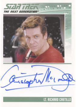 Buy Mcdonalds Gift Card With Paypal - star trek tng heroes villains autograph card christopher mcdonald as castillo ebay