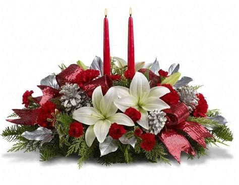 39 best christmas flowers and centerpiece images on