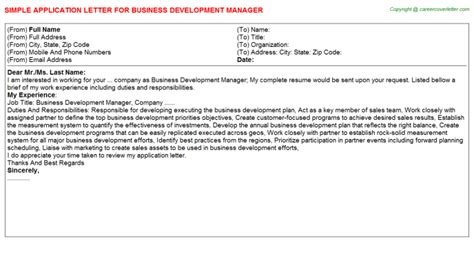 Experience Letter Business Development Manager business development manager title docs