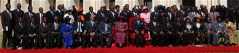 list of the new malawi cabinet of malawi