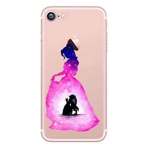 watercolour disney princess cartoon tpu gel  case