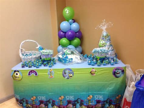 monsters inc decorations for baby shower monsters inc baby shower ideas baby shower