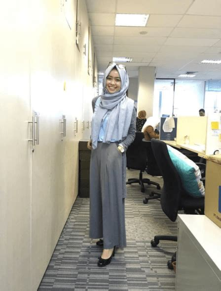 hijab office wear  ideas  wear hijab  work elegantly
