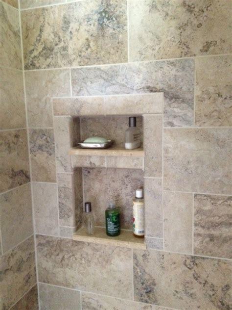 tiled shower cutouts shower remodel kitchen bath decor