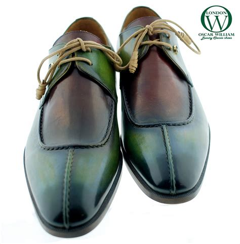 Handcrafted Italian Shoes - handmade derby shoes benedict oscarwilliam handcrafted