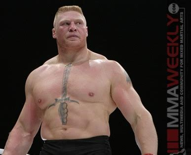 Ufc Mba by Wow What A Win For Brock Lesnar Kombat Arts