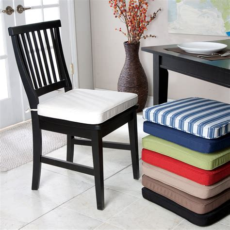 Dining Room Chair Cushions With Ties Chair Seat Cushions Chairs Seating
