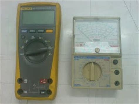 Multitester Listrik alat ukur listrik avo meter atau multimeter elektronika bersama