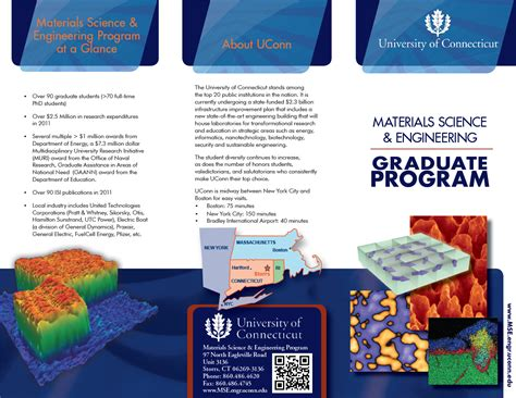 Materials Science And Engineering Mba by Materials Science And Engineering Brochures