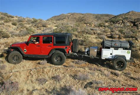 jeep offroad trailer review bivouac cing trailers m o a b overland trailer