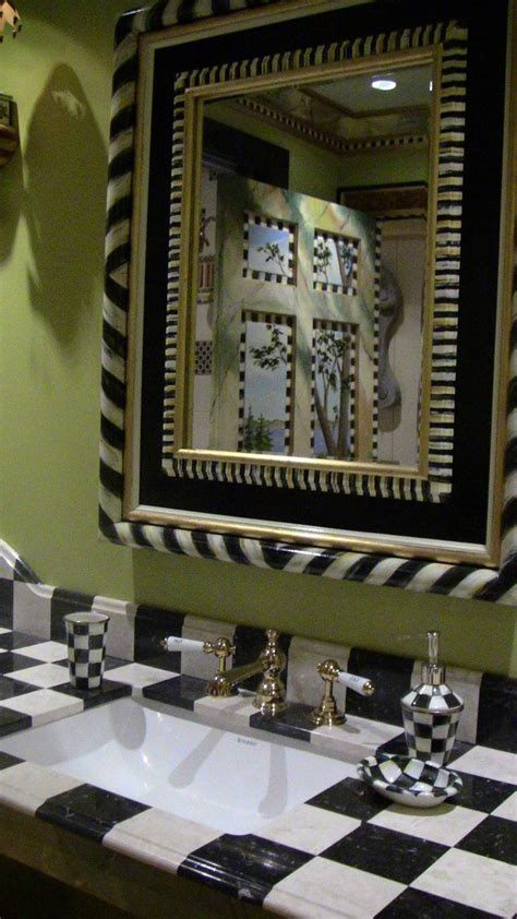 mackenzie childs bathroom tango mirror in middlebury consignments show mackenzie