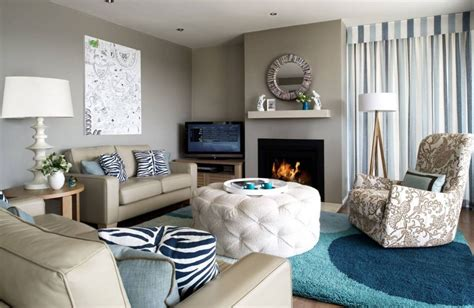 pictures of rooms using taupe to create a stylish family friendly living room