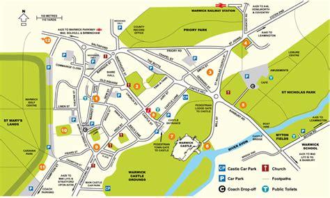 town map general information visit warwick