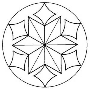 snowflake stained glass stepping stone pattern free