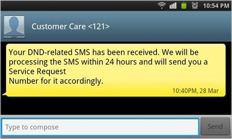 messages not downloading android do not disturb report spam sms messages and marketing calls on your android phone