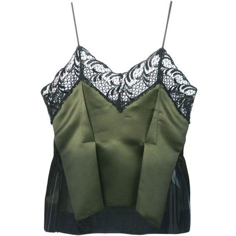 Sharhorn Green Blouse 3066 best my polyvore finds images on bodas bras and see through bra