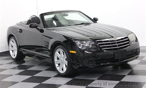 2005 chrysler convertible 2005 used chrysler crossfire 6 speed convertible at
