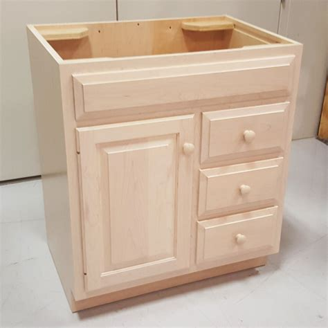 Handcrafted Cabinets - custom maple bathroom vanity cabinet custom bathroom
