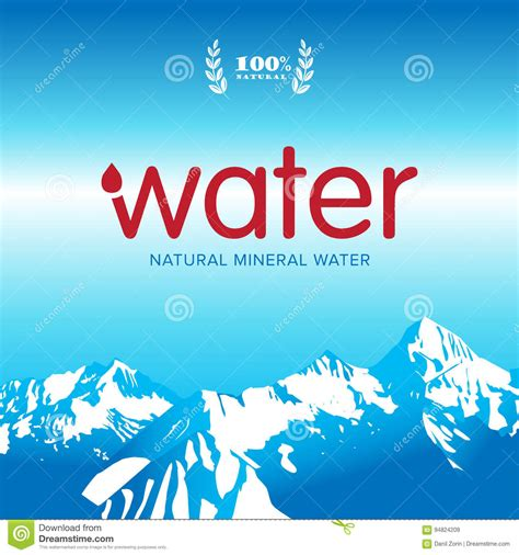 mineral water label template mineral water label template images free templates ideas