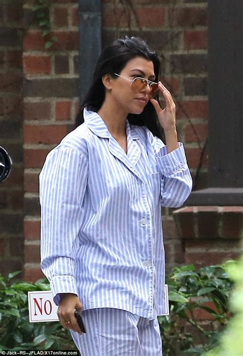 Kris Set Shower A222d05g03 s belly busts out of pajamas at baby shower daily mail