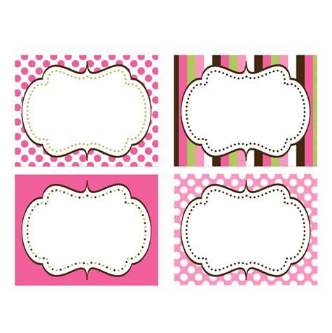 labels printable cupcake printable package