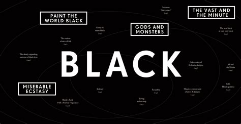 black color names quotes about the color black quotesgram