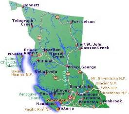 map of southern bc canada vancouver maps navigate easily around vancouver with