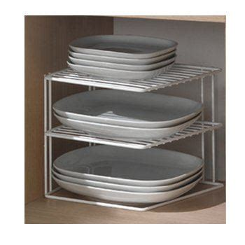 porte assiettes pour cuisine porte assiette 3 niveaux blanc achat vente range