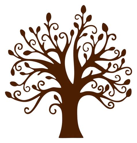 brown tree clip brown tree without leaves clipart