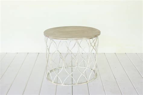 small white coffee table vintage rentals in connecticut