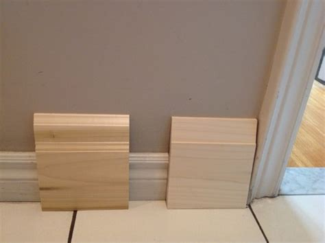 modern baseboard help me choose a baseboard for my modern main floor renovation