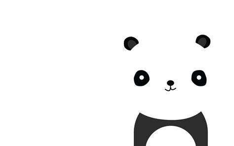 wallpaper black and white panda cute panda backgrounds wallpaper cave