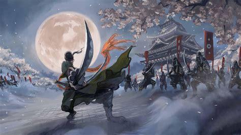 sumurai zoro wallpaper  background image