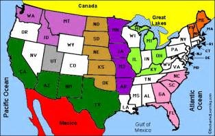 us map with states borders us maps follow the enchantedlearning