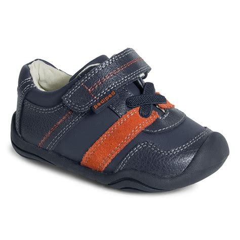 comfortable shoes for kids grip n go channing navy pediped footwear