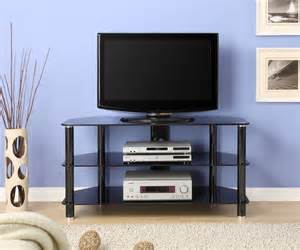glass tv stands innovex 42 in black glass tv stand tc280g29