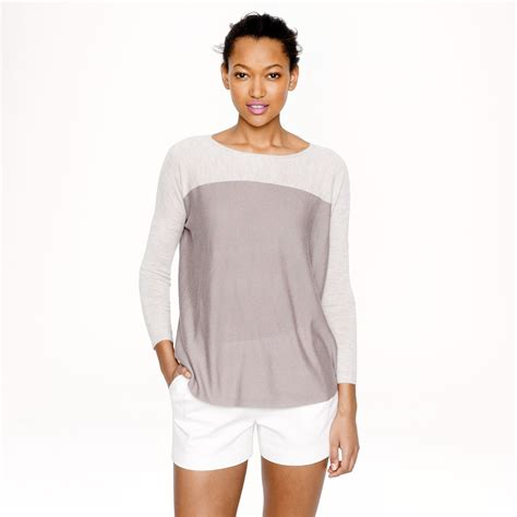 swing sweaters j crew collection featherweight cashmere swing sweater in