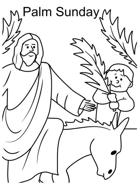 palm sunday template palm sunday coloring page sketch coloring page