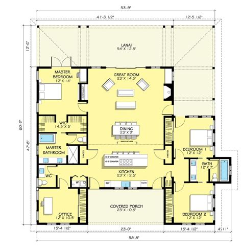houseplanscom country farmhouse floor plan plan
