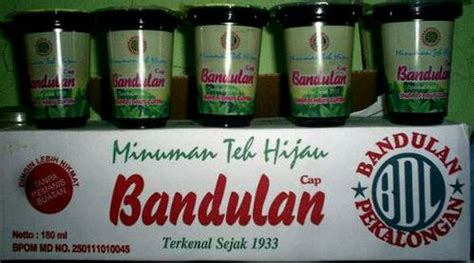Teh Gelas Bandulan minuman teh kemasan bermerek yang beredar di indonesia
