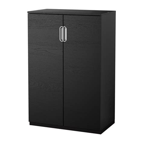 Black Cabinet Doors by Galant Cabinet With Doors Black Brown