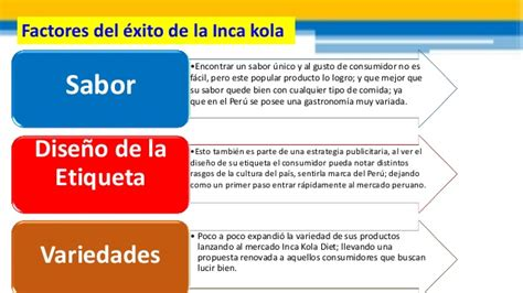 cadena de valor de inka kola proceso de industrializaci 243 n inca kola