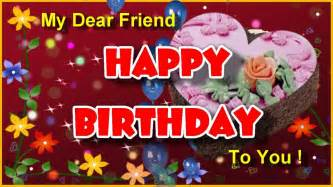 happy birthday cards with greetings for friends bday wishes cakes