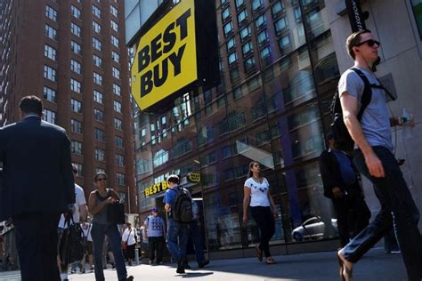 best buy quarterly sales best buy profit beats wall street view ny daily news