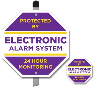 decoy security signs for personal use home security