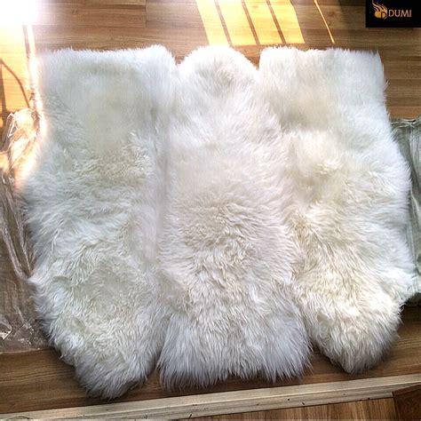 tappeto di pecora coperte di pelliccia vera sanotint light tabella colori